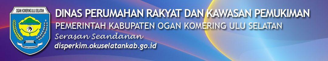 Portal Resmi Dinas Perumahan Rakyat, Kawasan dan Permukiman Pemerintah Kabupaten OKU Selatan